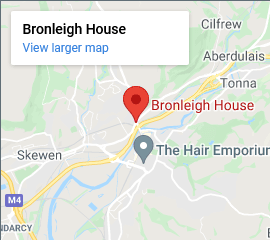 Bronleigh House Map
